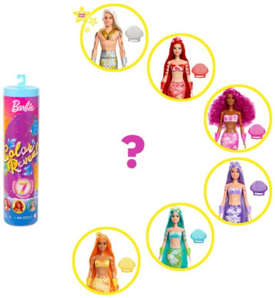Barbie - Barbie Color Reveal Mermaid (Papd)