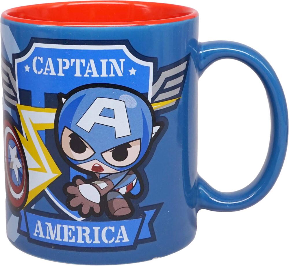 Marvel Mini Heroes Captain America Mug (11 Oz) - Marvel Mini Heroes Captain America Mug (11 Oz)