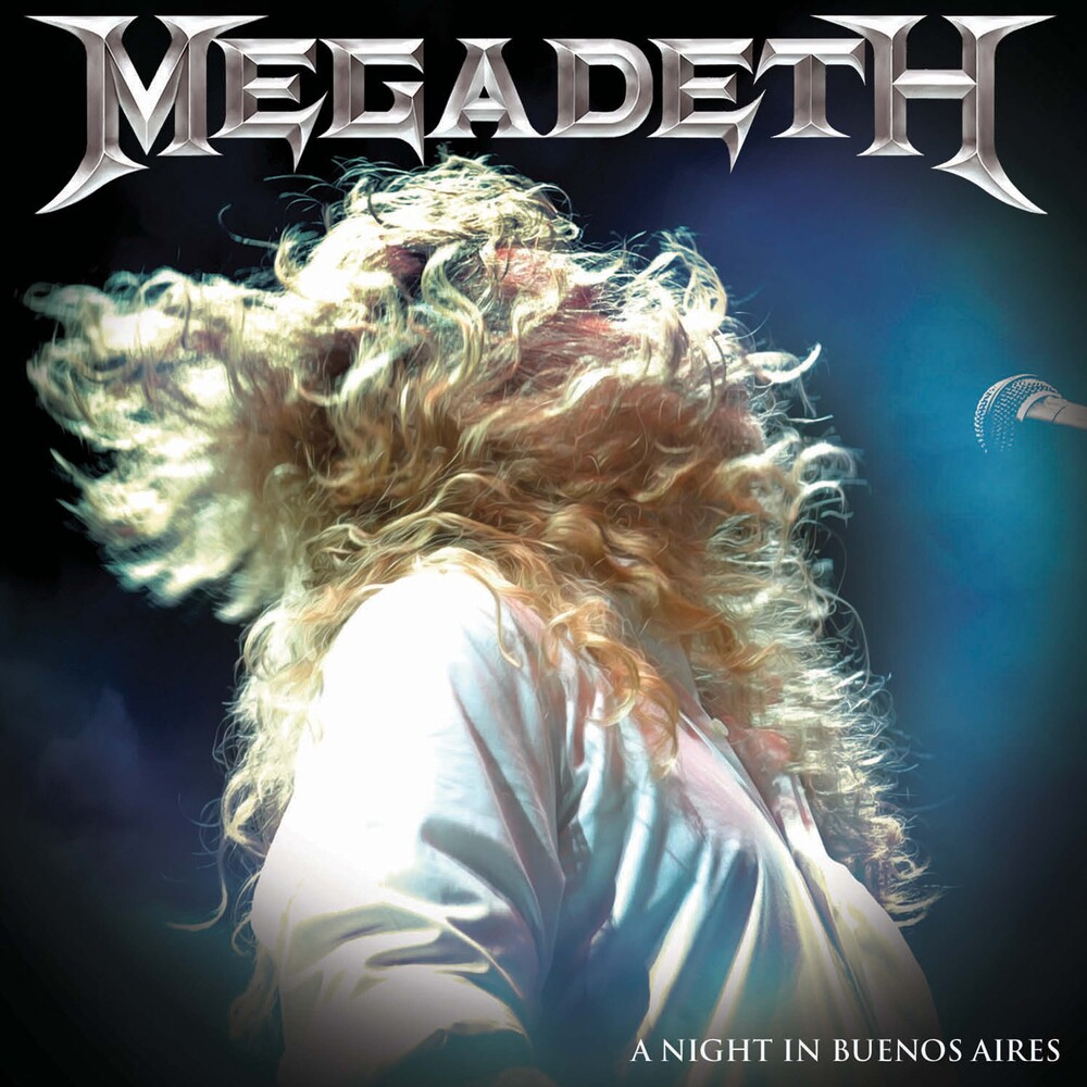 Megadeth - Night In Buenos Aires (Clear Vinyl) [Colored Vinyl] [Clear Vinyl]