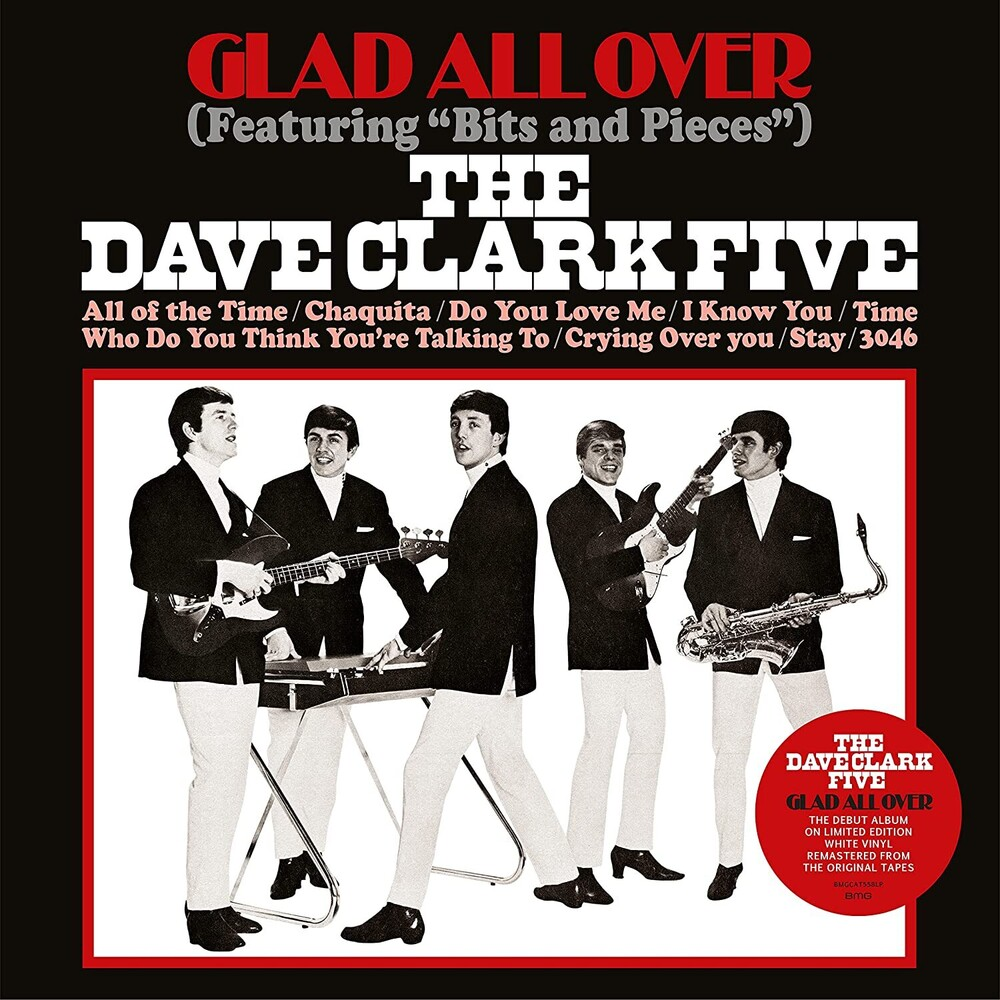 Dave Clark Five - Glad All Over [Colored Vinyl] (Ofgv) (Wht)