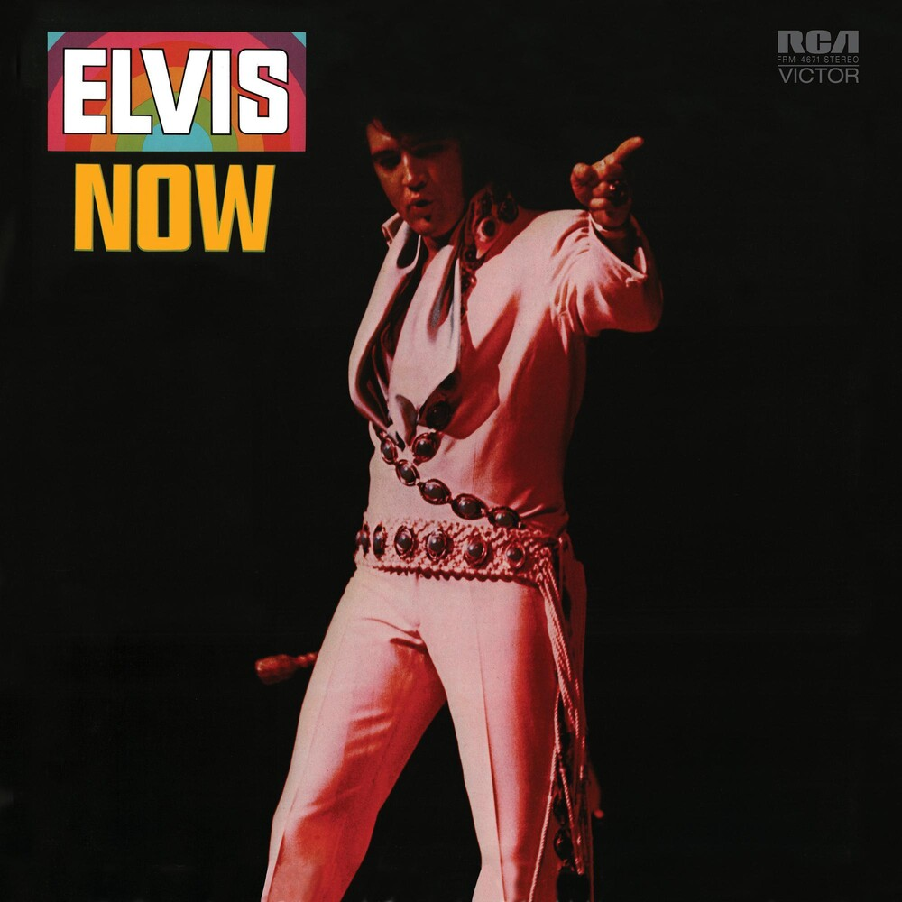 Elvis Presley - Elvis Now [Limited Anniversary Edition Translucent Blue & Black Swirl Audiophile LP]