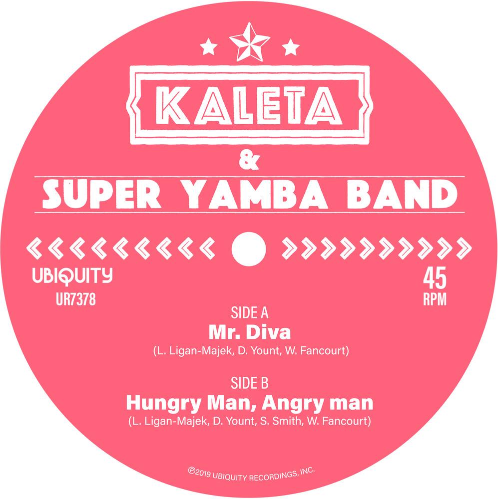 Kaleta - Mr. Diva / Hungry Man Angry Man (Grn)