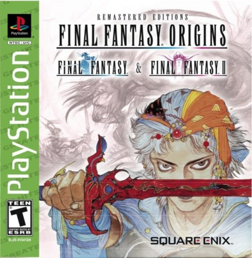 Psx Final Fantasy Origin - Final Fantasy Origin / Game