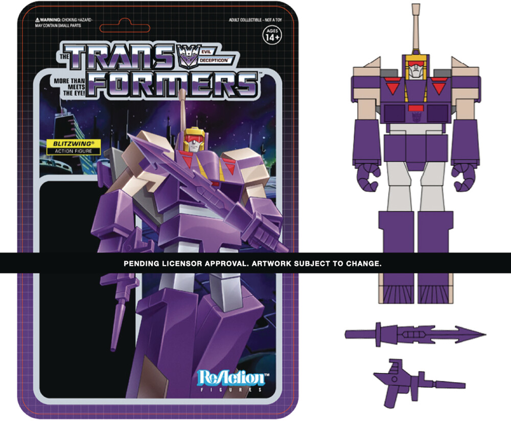 Transformers Reaction Wave 3 - Blitzwing - Transformers ReAction Wave 3 - Blitzwing