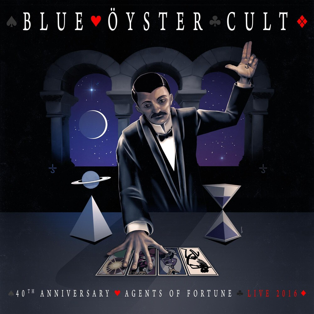 Blue Oyster Cult - 40th Anniversary - Agents Of Fortune - Live 2016 [Blu-Ray]
