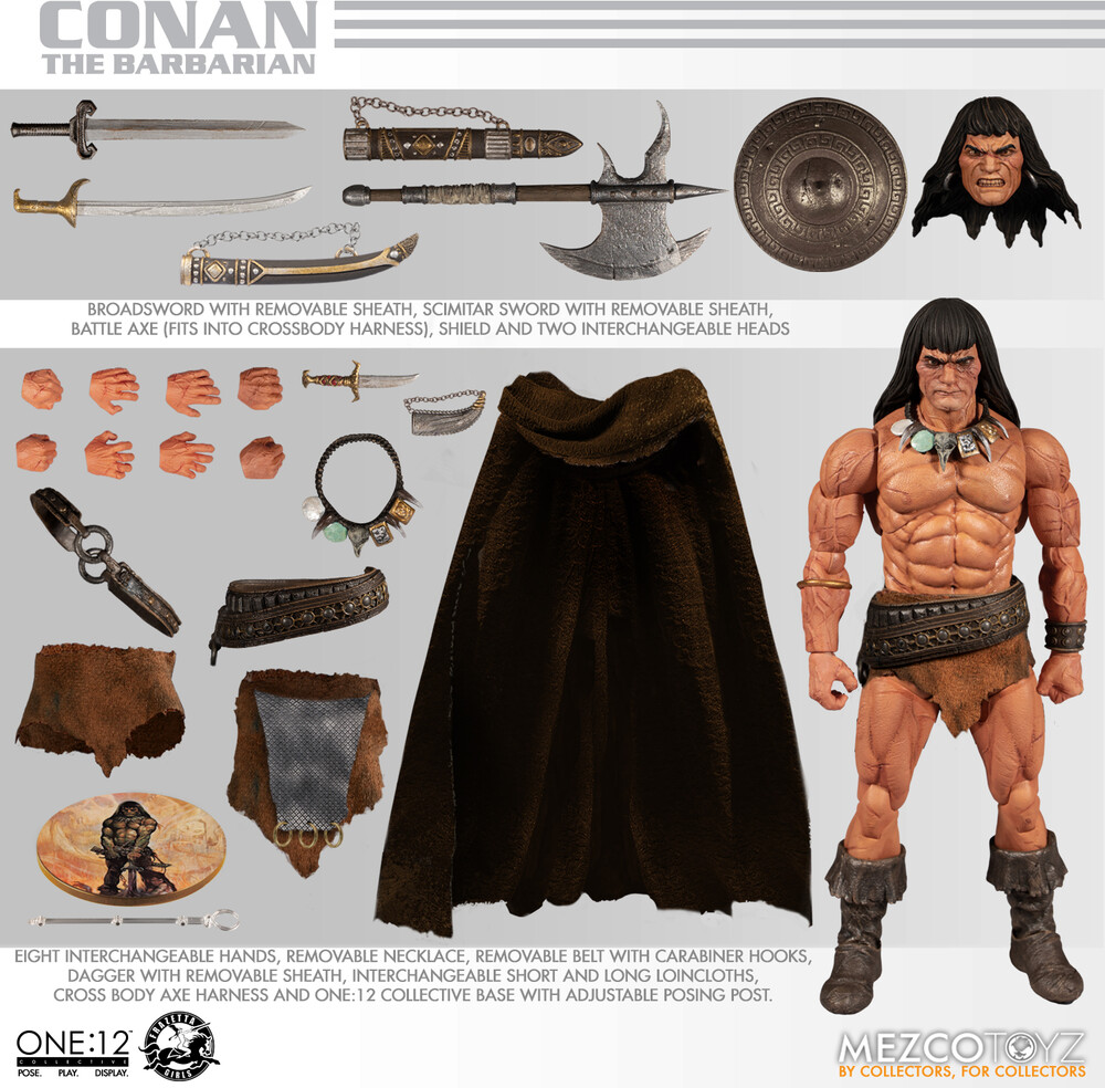 One:12 Collective Conan the Barbarian - One:12 Collective Conan the Barbarian