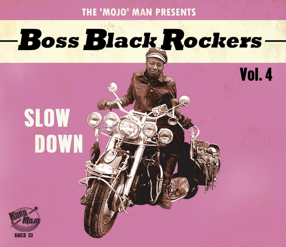 Boss Black Rockers Vol 4 Slow Down / Various - Boss Black Rockers Vol 4 Slow Down / Various