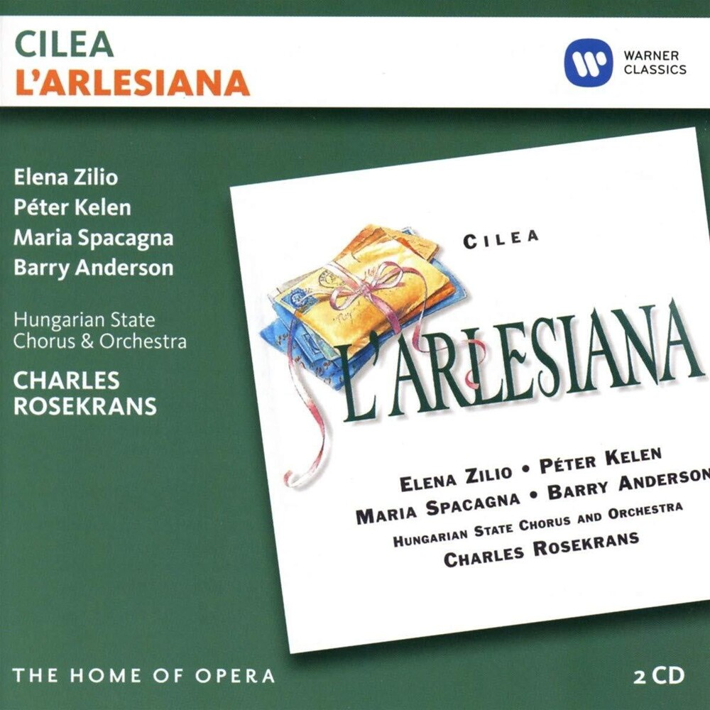 Elena Zilio / Kelen,Peter / Hungarian State Chorus - Cilea: L'arlesiana
