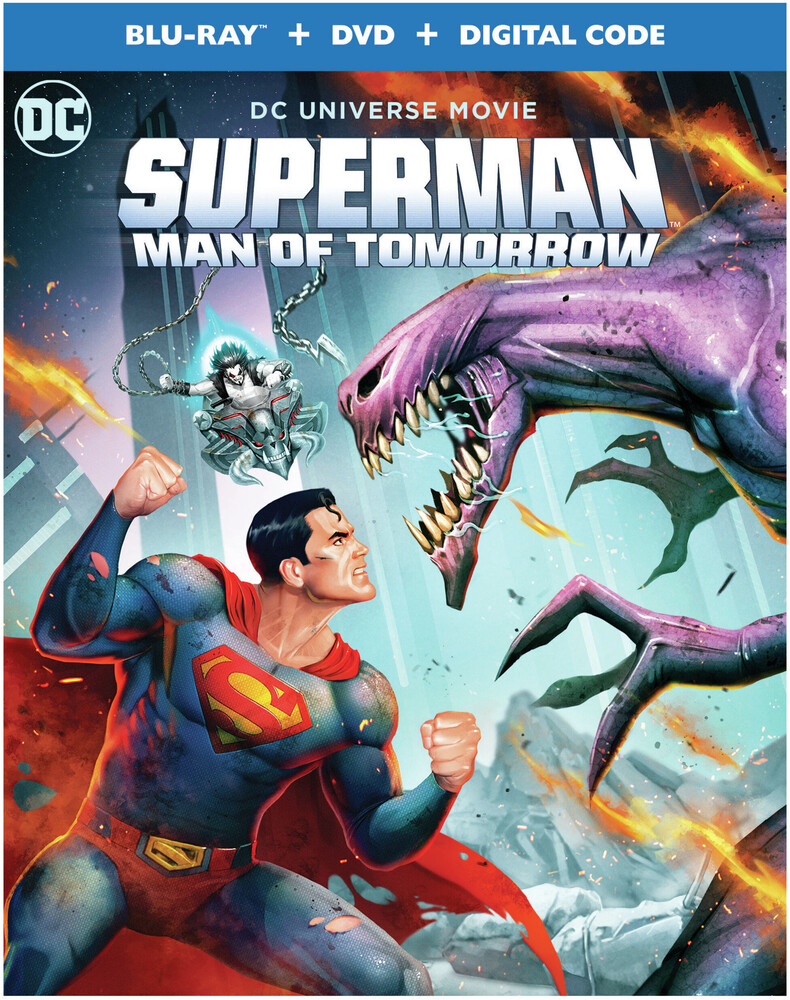 - Superman: Man Of Tomorrow (W/Dvd) / (Digc)