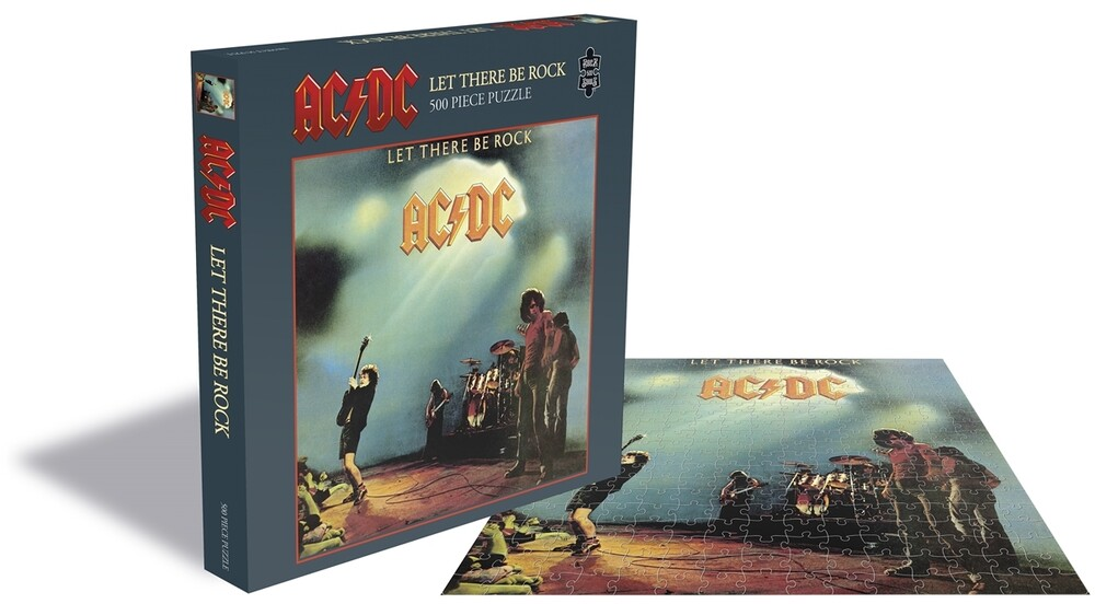 - AC/DC Let There Be Rock (500 Piece Jigsaw Puzzle)