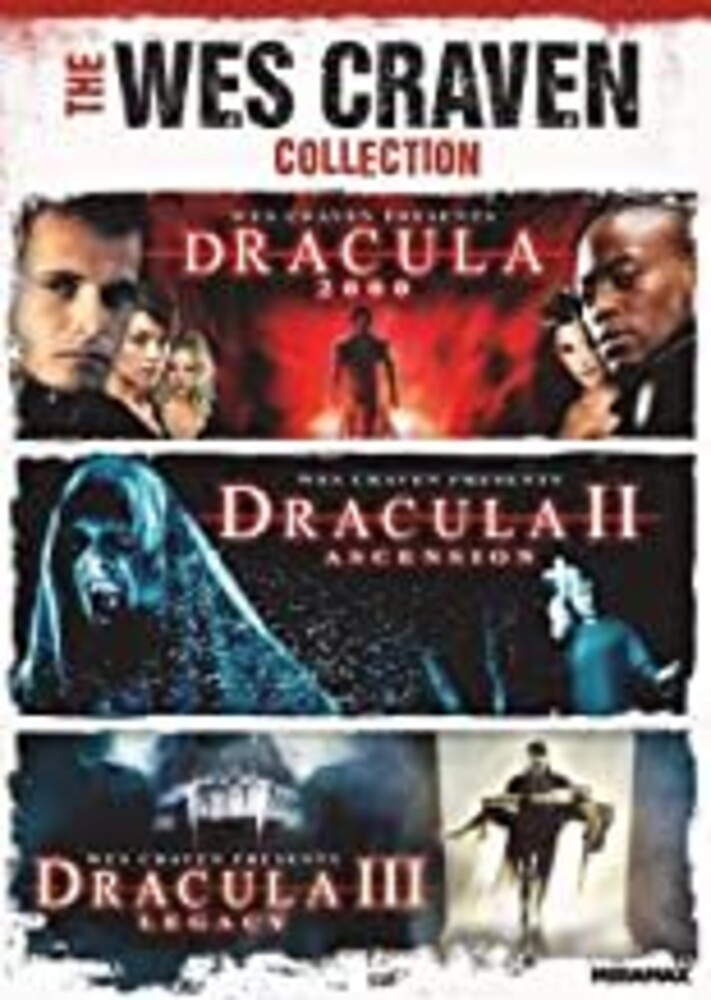 Dracula 3-Movie Collection - The Wes Craven Collection