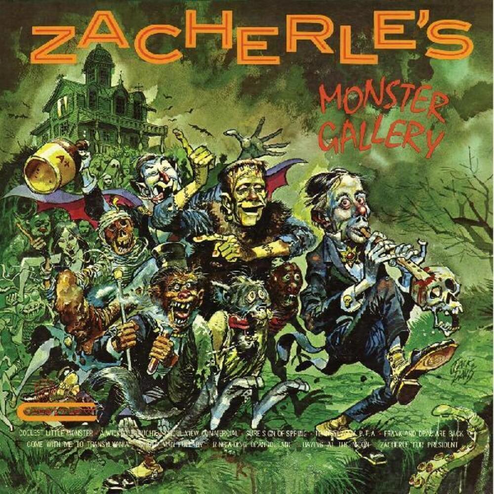 Zacherle - Zacherle's Monster Gallery [Clear Vinyl] [Limited Edition]