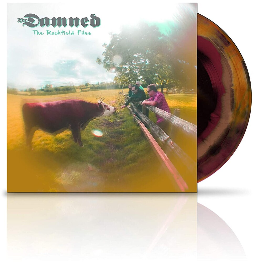 The Damned - The Rockfield Files EP [Limited Edition Black/Brown/Purple Swirl Vinyl]
