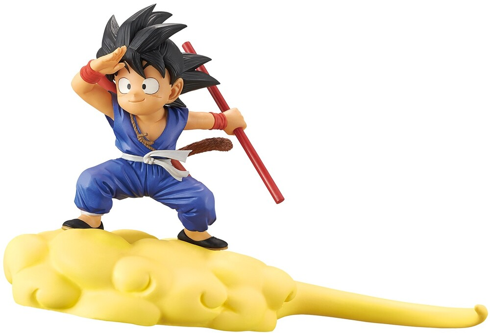 Banpresto - BanPresto - Dragon Ball Goku & Flying Nimbus Figure Version 2