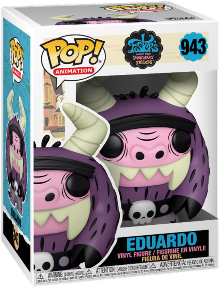 - FUNKO POP! ANIMATION: Fosters Home- Eduardo