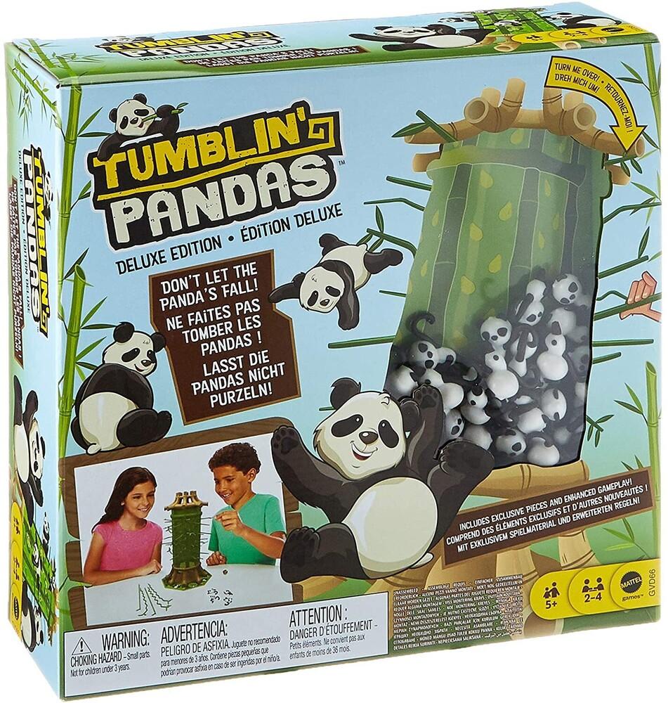 Games - Mattel Games - Tumblin' Pandas Deluxe