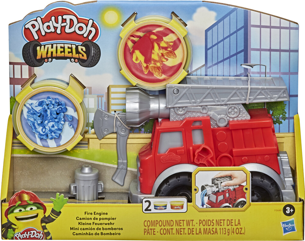 Pd Rescue Firetruck - Hasbro Collectibles - Play-Doh Rescure Firetruck