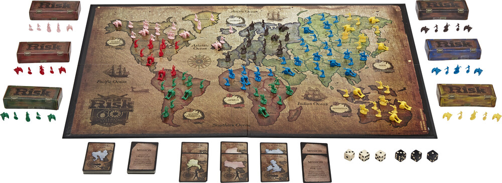 Risk 60th Anniversary Edition - Hasbro Collectibles - Risk 60Th Anniversary Edition