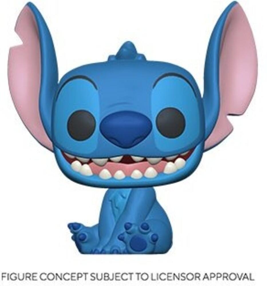- FUNKO POP! DISNEY: Lilo & Stitch-Smiling Seated Stitch
