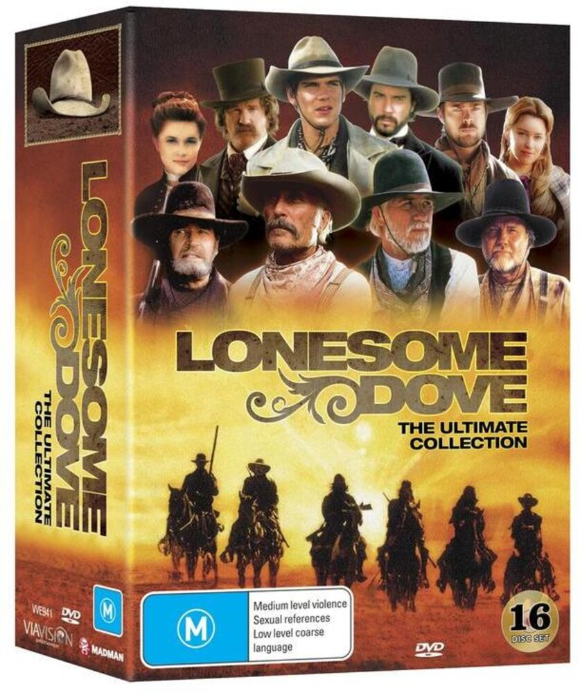 Lonesome Dove: The Ultimate Collection - Lonesome Dove: The Ultimate Collection (16pc)