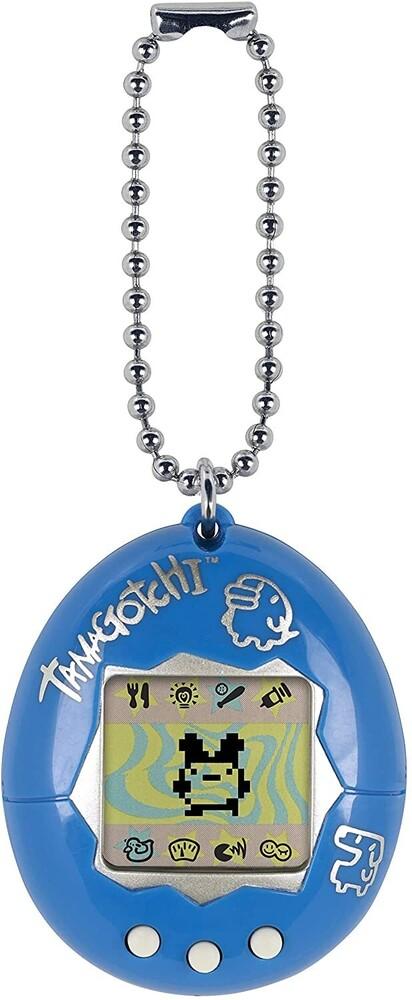Tamagotchi - Bandai America - Original Tamagotchi, Blue with Silver