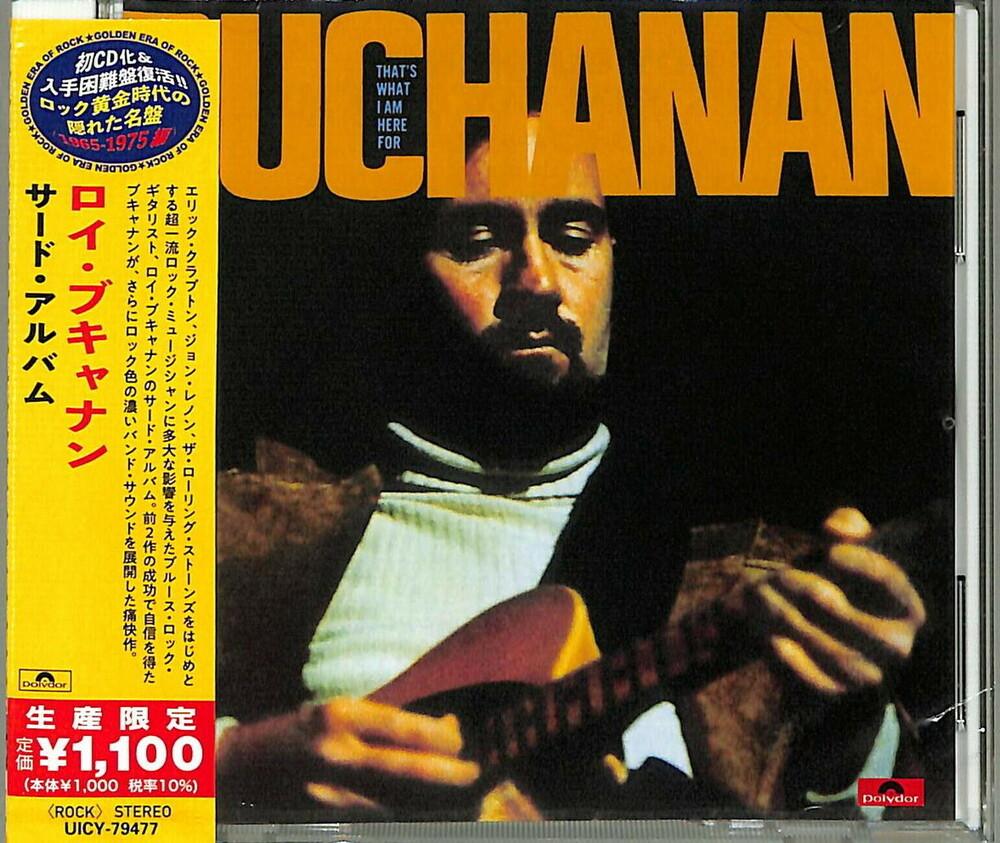 Roy Buchanan - That's What I'm Here For [Reissue] (Jpn)