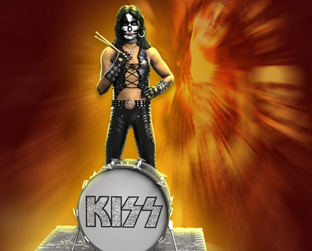 - Knucklebonz - KISS - Peter Criss (HTH) Rock Iconz Statue
