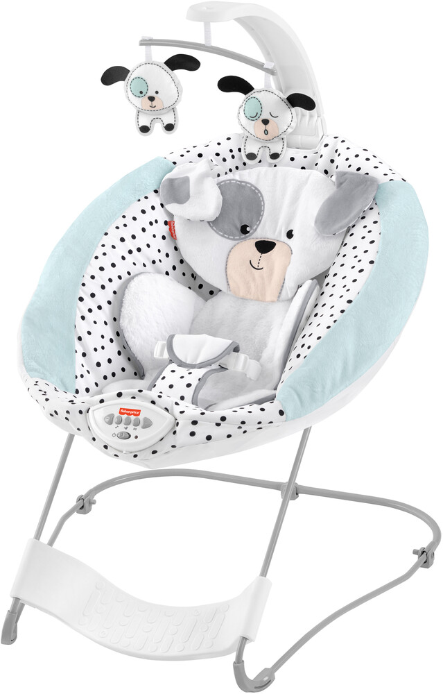 - Fisher Price - Deluxe Bouncer Snugapuppy