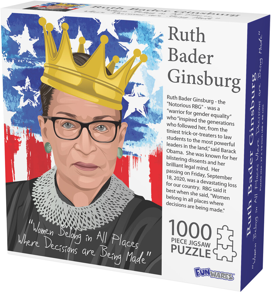 - Funwares Notorious Rbg Ruth Bader Ginisburg Puzzl