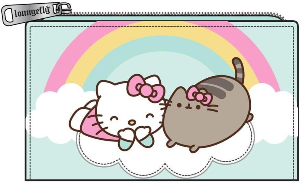 Loungefly Pusheen: - X Hello Kitty Cloud Lounging Bifold Wallet (Wal)
