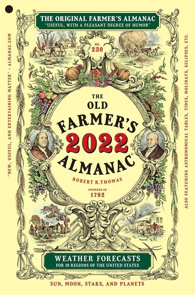 Old Farmers Almanac - Old Farmers Almanac 2022 Edition (Ppbk)