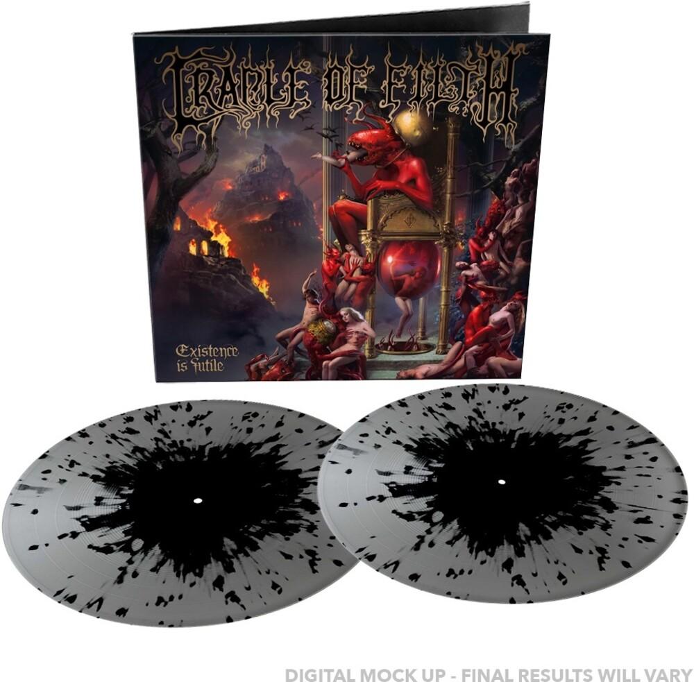 Cradle Of Filth - Existence Is Futile (Silver/Black Splatter Vinyl)