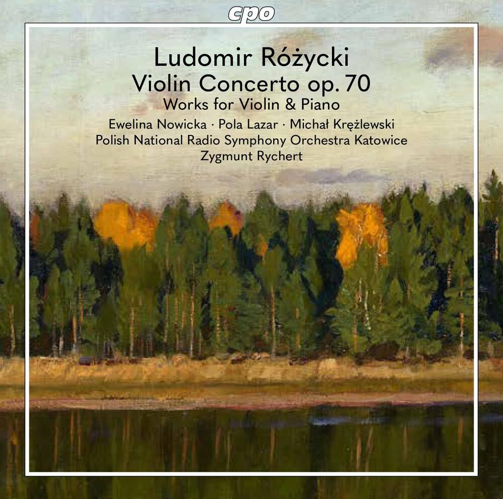 Rozycki / Nowicka / Rychert - Violin Works
