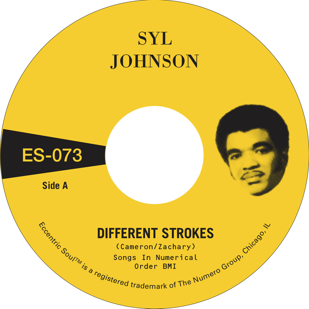 Sly Johnson - Different Strokes / Is It Because I'm Black [Indie Exclusive]