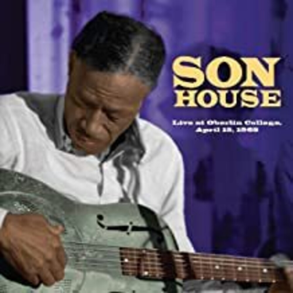 Son House - Live At Oberlin College April 15 1965 [Reissue]