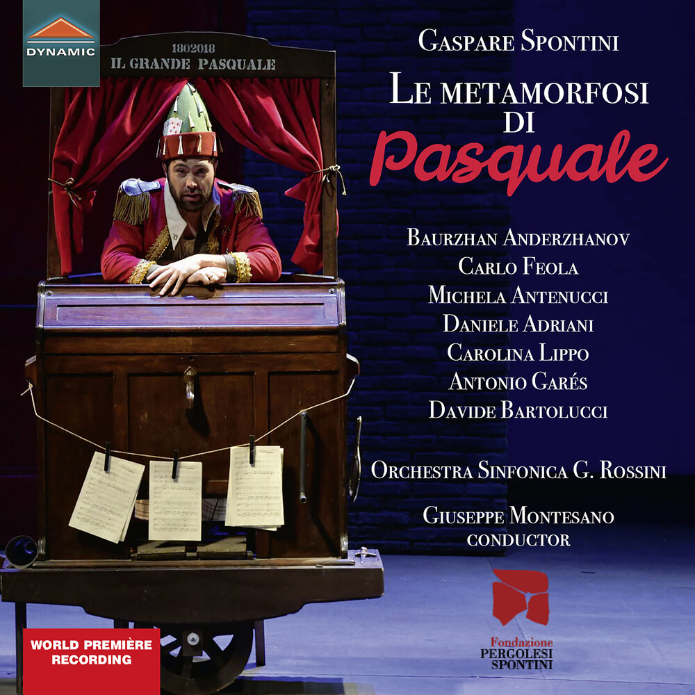 Spontini / Feola / Montesano - Metamorfosi Di Pasquale