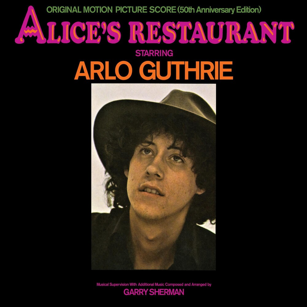 Arlo Guthrie - Alice's Restaurant: Original MGM Motion Picture Soundtrack (50th Anniversary Edition) [LP]
