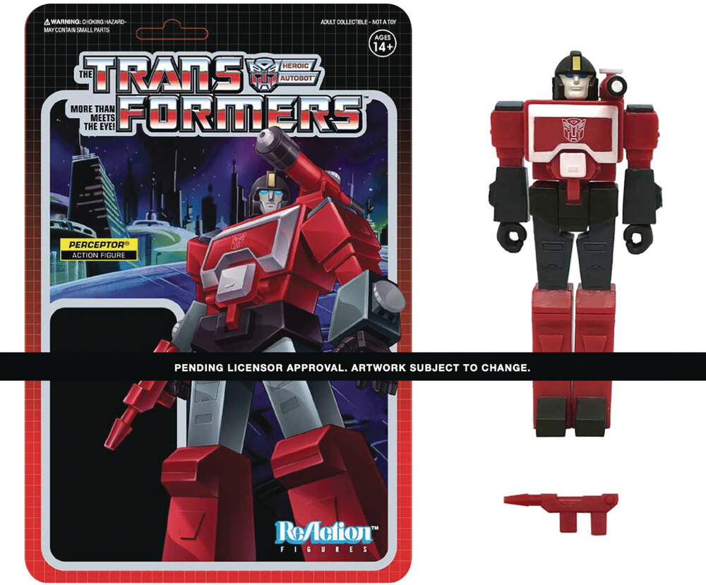 Transformers Reaction Wave 3 - Perceptor - Transformers ReAction Wave 3 - Perceptor