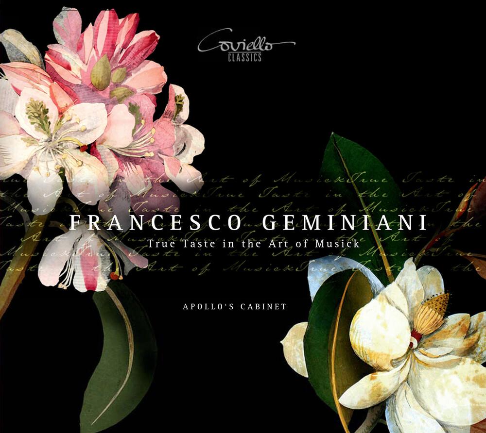 Geminiani / Apollos Cabinet - True Taste In The Art Of Music