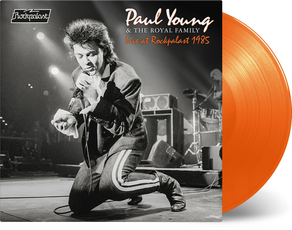 Paul Young & The Royal Family - Live At Rockpalast 1985 [Limited Orange Colored Vinyl]