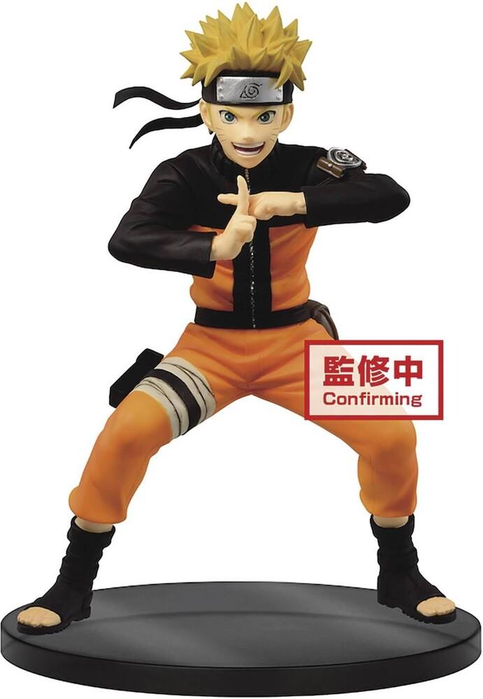 Banpresto - BanPresto Naruto Shippuden Vibration Stars Uzumaki Naruto II Figure