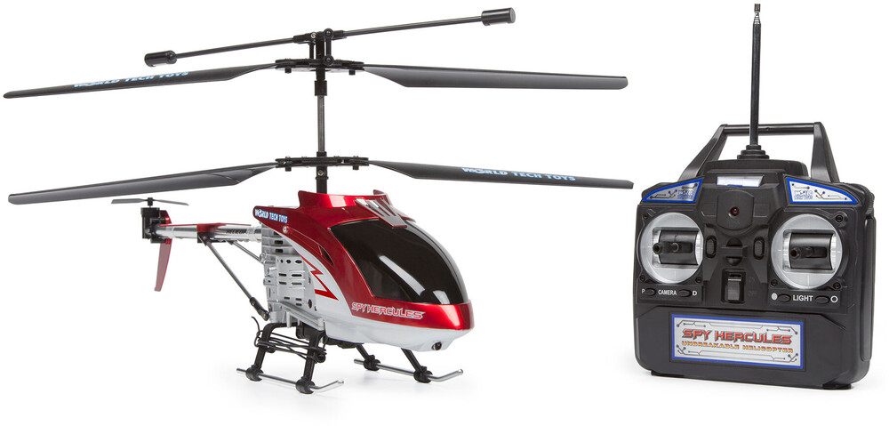 Rc Helicopters - 3.5CHs: Spy Hercules Unbreakable Remote Control Gyro Helicopter (One random color per transaction. Colors red, blue or yellow.)