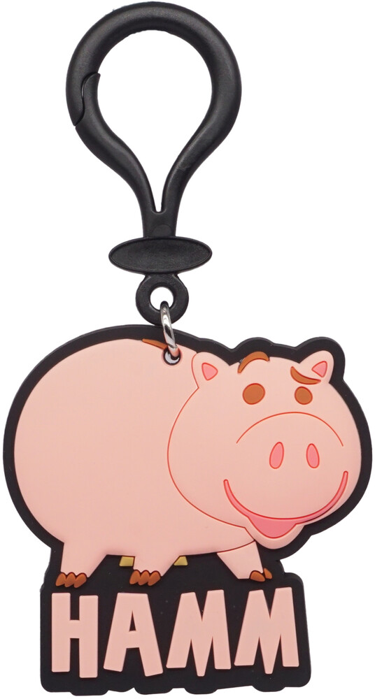 Toy Story Hamm Soft Touch Bag Clip - Toy Story Hamm Soft Touch Bag Clip