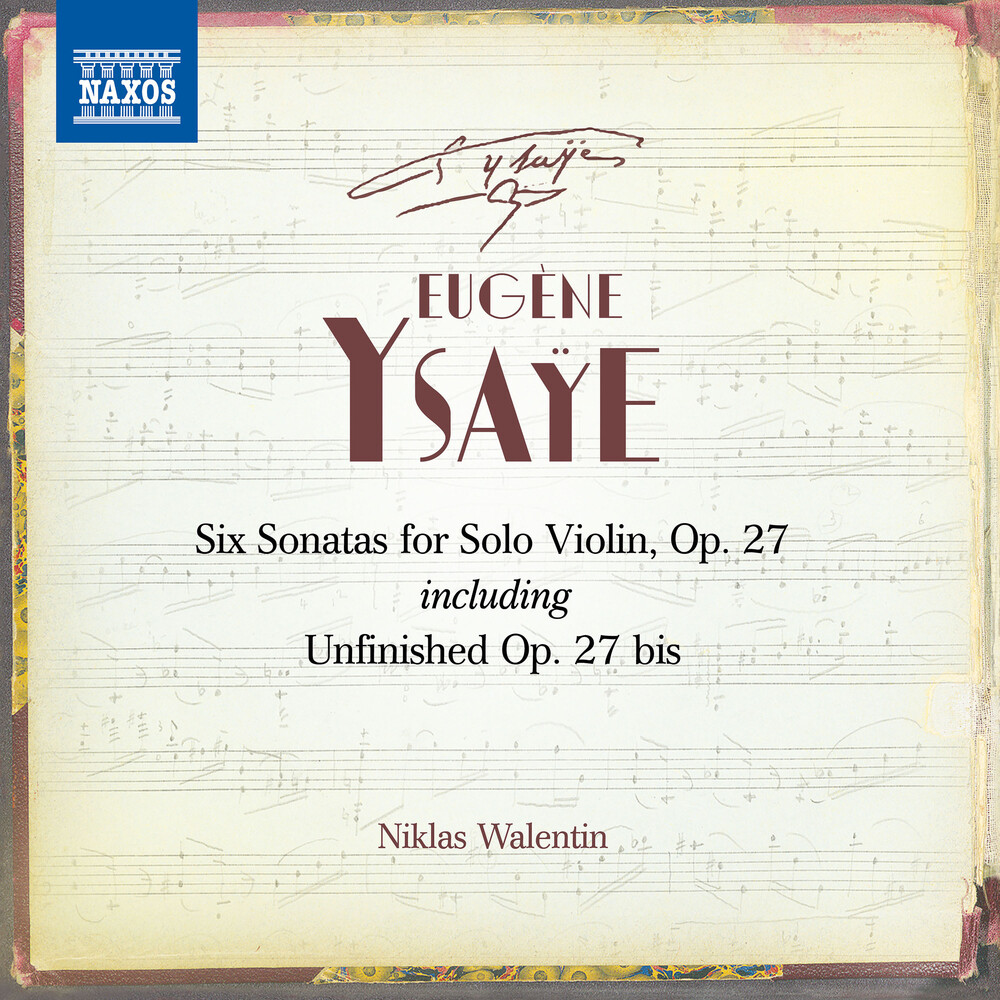 Ysaye - Six Sonatas For Solo Violin (2pk)
