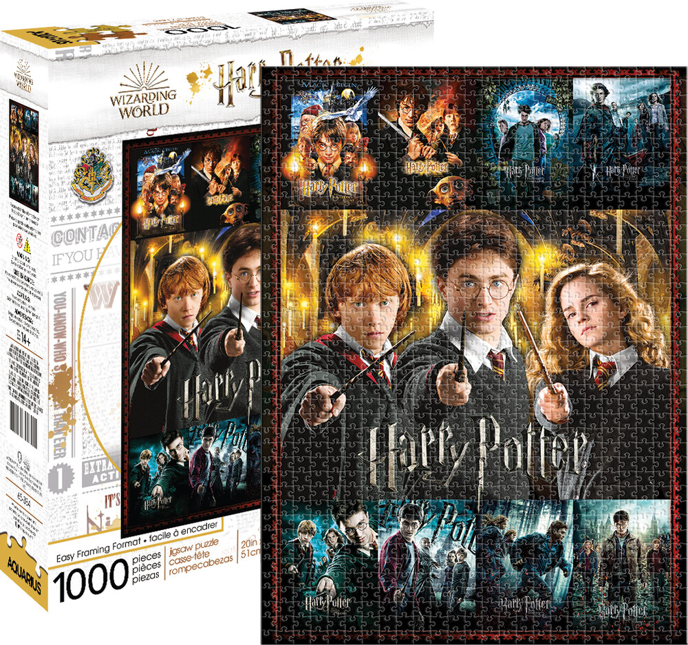 Harry Potter Movies 1000 PC Puzzle - Harry Potter Movies 1000 Pc Puzzle