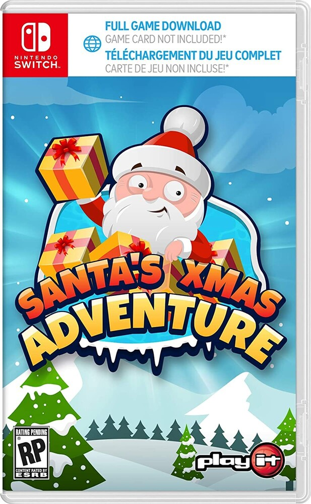 Swi Santa's Xmas Adventure Complete Ed - Santa's XMAS Adventure - Complete Edition for Nintendo Switch
