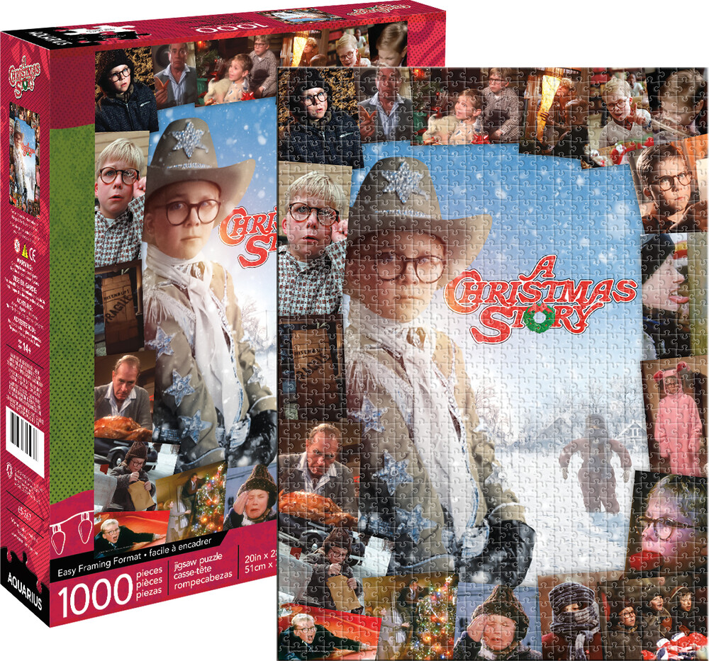A Christmas Story 1000 PC Puzzle - A Christmas Story 1000 Pc Puzzle