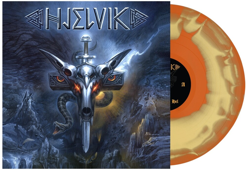 Hjelvik - Welcome To Hel [Indie Exclusive Limited Edition Orange Mustard Swirl LP]