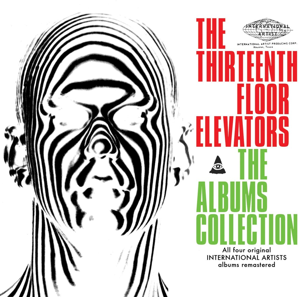 13th Floor Elevators - The Albums Collections (4CD Clambox Set)