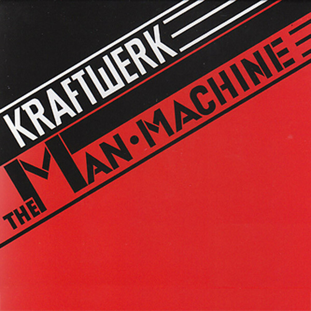 Kraftwerk - The Man-Machine [Indie Exclusive Limited Edition Red LP]